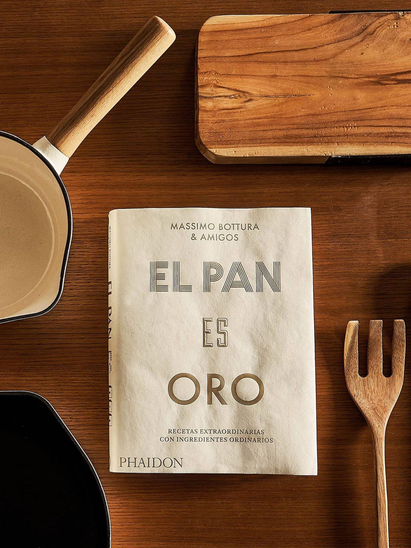 Libros de cocina que puedes comprar en Zara Home. (Cortesía)
