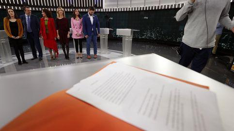 Cayetana y Arrimadas desquician a PSOE y Podemos en el debate a seis en RTVE
