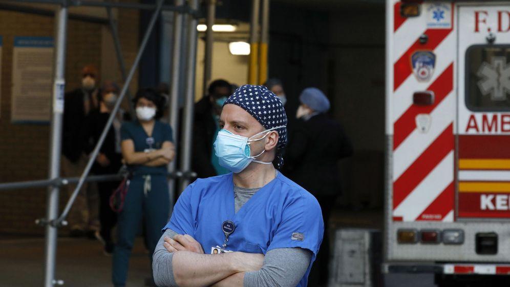 Foto: Un médico del hospital Mount Sinai en Nueva York. (Reuters)
