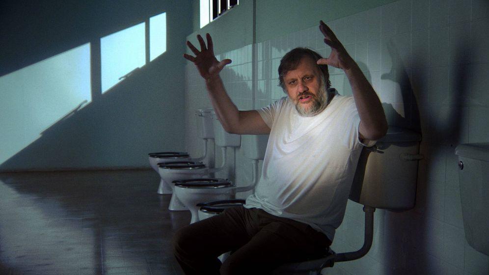 Foto: Zizek en una escena del documental 'The Pervert´s guide to ideology'