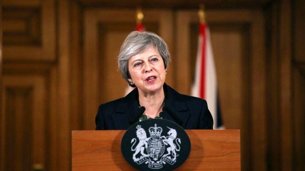 Foto: Theresa May ante los medios de comunicación. (Reuters)