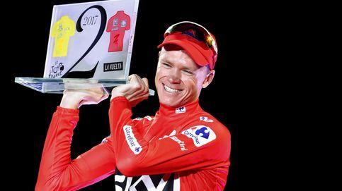 Chris Froome, positivo en un control antidopaje en la Vuelta a España 2017