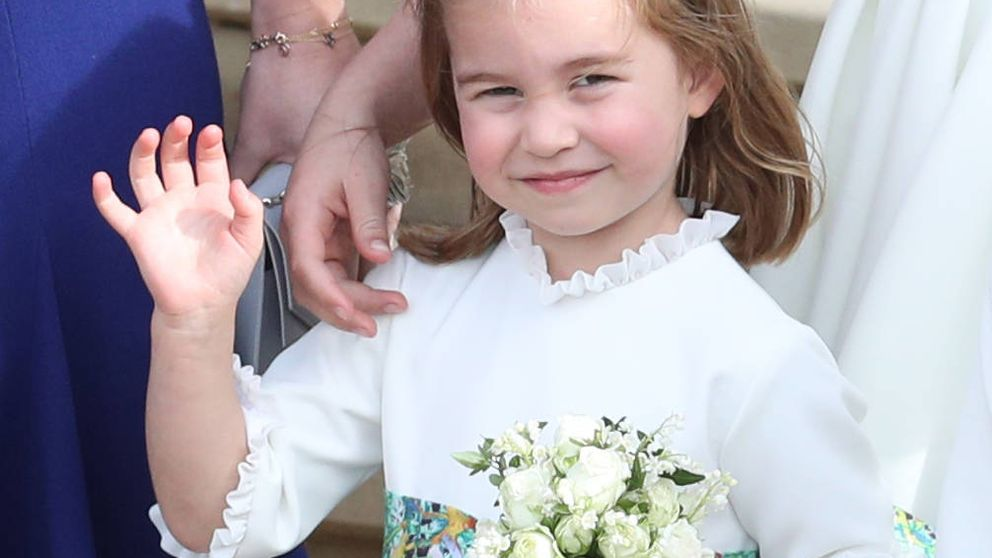 Charlotte y su asombroso parecido con Lady Kitty Spencer, sobrina de Lady Di
