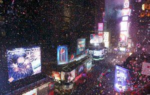 Despide el año a lo grande en Times Square