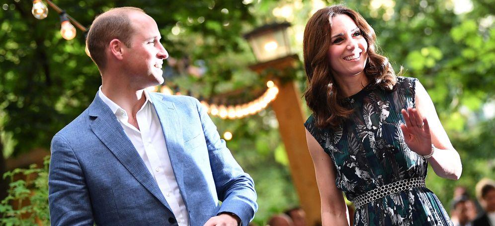 Foto: Los duques de Cambridge esperan su tercer hijo. (Reuters)