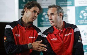 Moyá, Ferrero y Costa, alternativas a Corretja como capitán de la Davis