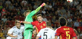 Post de Cuatro arrolla con la derrota de España en el Europeo Sub-21: 4,4 millones y 34,1%