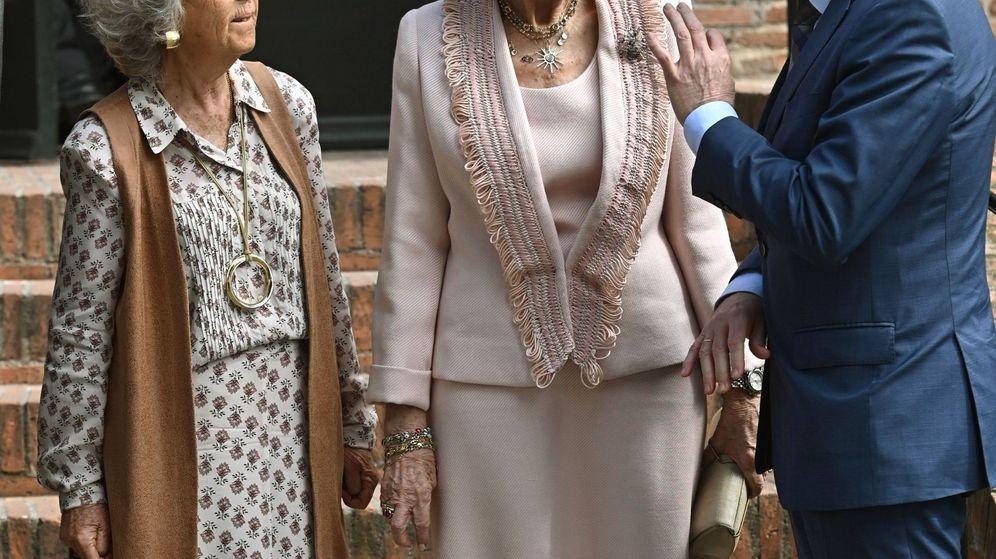 Foto: La reina Sofía, este martes en Madrid. (EFE)