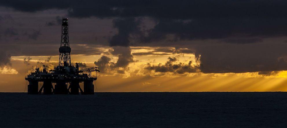 Foto: Prospecciones petrolíferas en el Atlántico, en aguas cercanas a Canarias. (EFE)