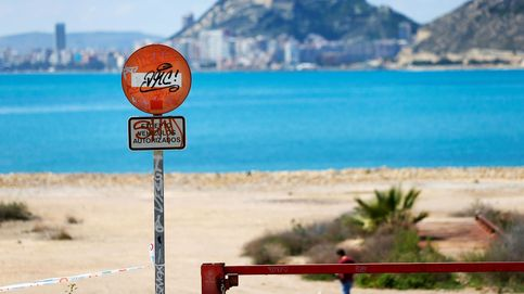 Lo nunca visto: playas vacías en plena Semana Santa