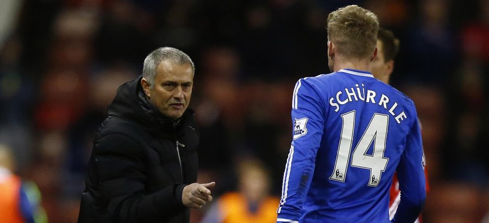 Foto: André Schürrle ha sido el último jugador del que ha prescindido Mourinho (Reuters)