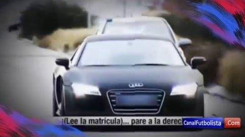 Así fue la persecusión de la Policía a James Rodríguez.