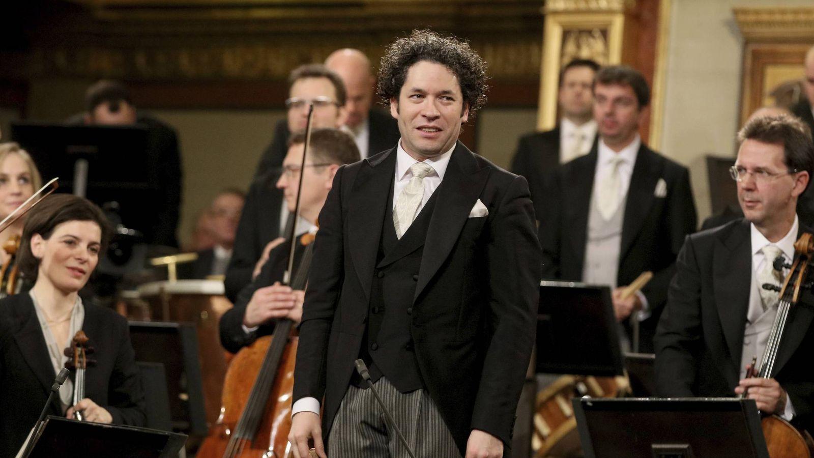 Foto: El director de orquesta Gustavo Dudamel en una imagen de archivo. (Gtres)