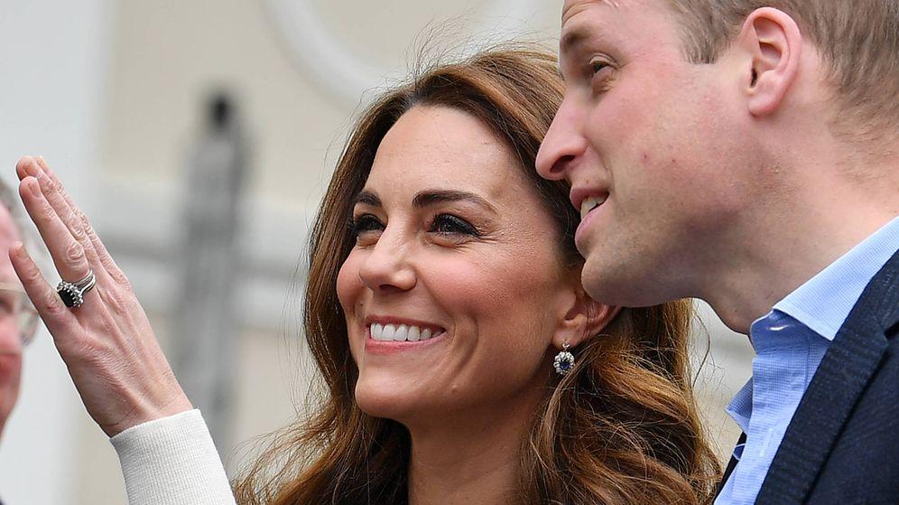 Foto: Kate Middleton y el príncipe Guillermo. (Getty)