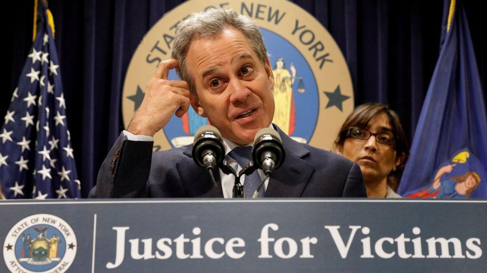 Foto: El hasta ahora fiscal general del estado de Nueva York, Eric Schneiderman. (Reuters)