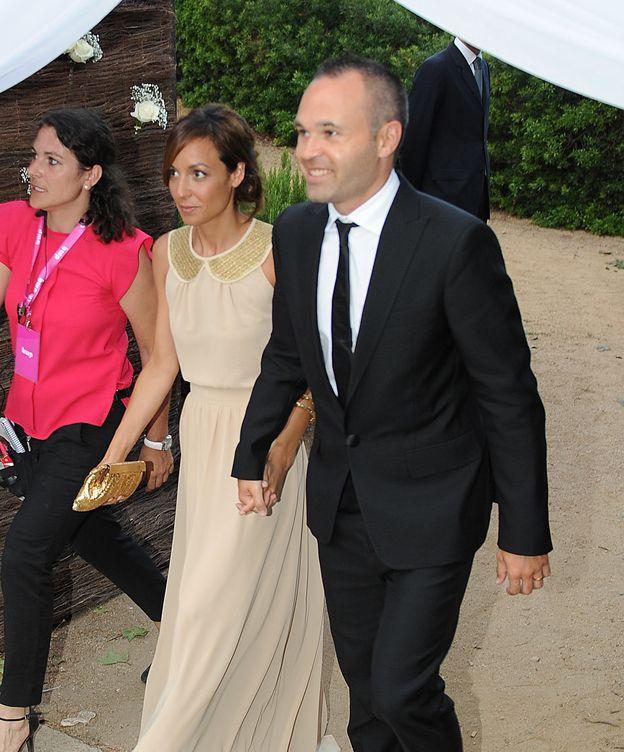 Foto: Anna Ortiz y Andrés Iniesta