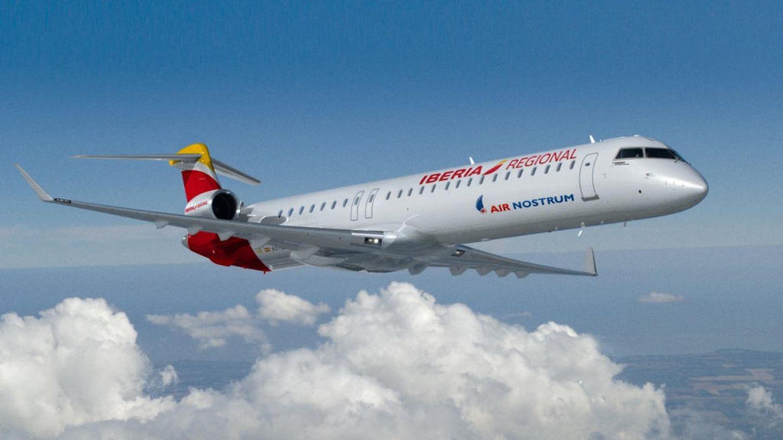 Uno de los Bombardier de Air Nostrum operador para Iberia. (AN)