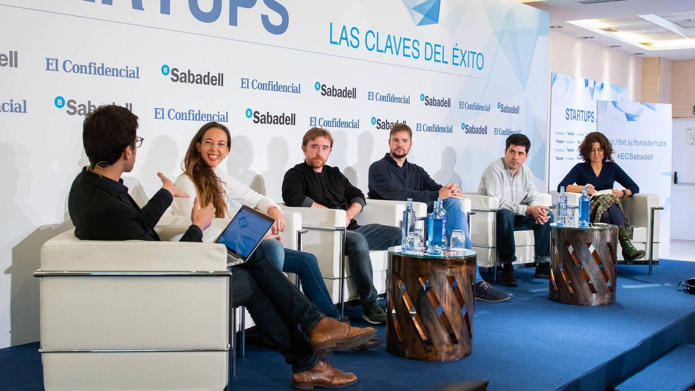Cuatro 'startups' cuentan sus claves para triunfar frente a las grandes compañías