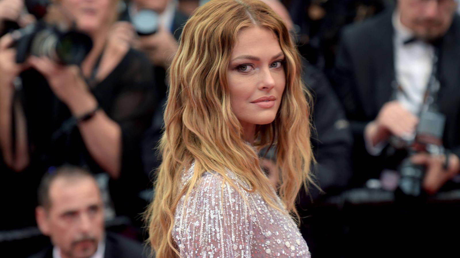 Foto: Caroline Receveur, en el Festival de Cine de Cannes. (Getty Images)