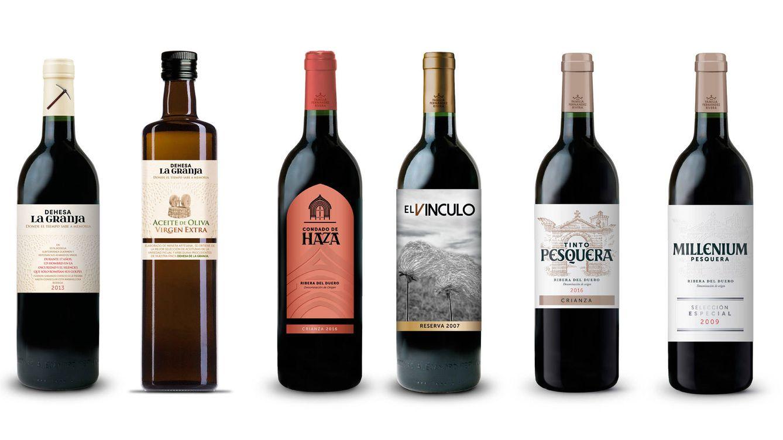 Foto: Diferentes botellas que protagonizan la amplia propuesta de Grupo Pesquera.
