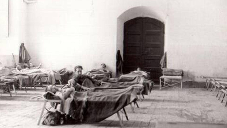 Hospital durante la Guerra Civil.