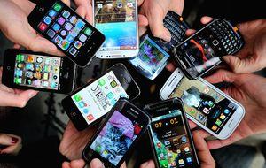 La clase media también se extingue en los 'smartphones'