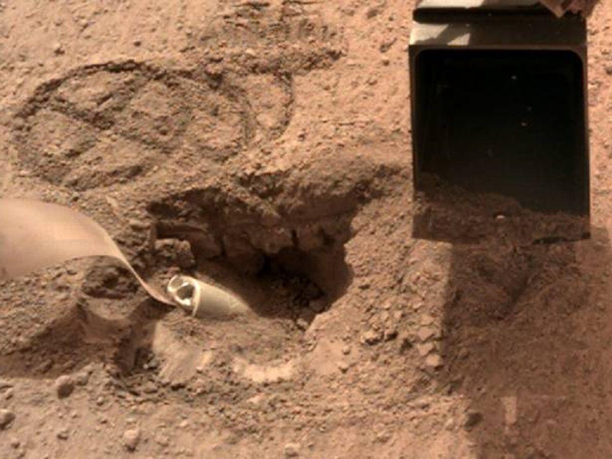 Foto: 'El Topo', la extraña misión de la NASA para saber cómo es el corazón de Marte. (FOTO: NASA/JPL-Caltech)