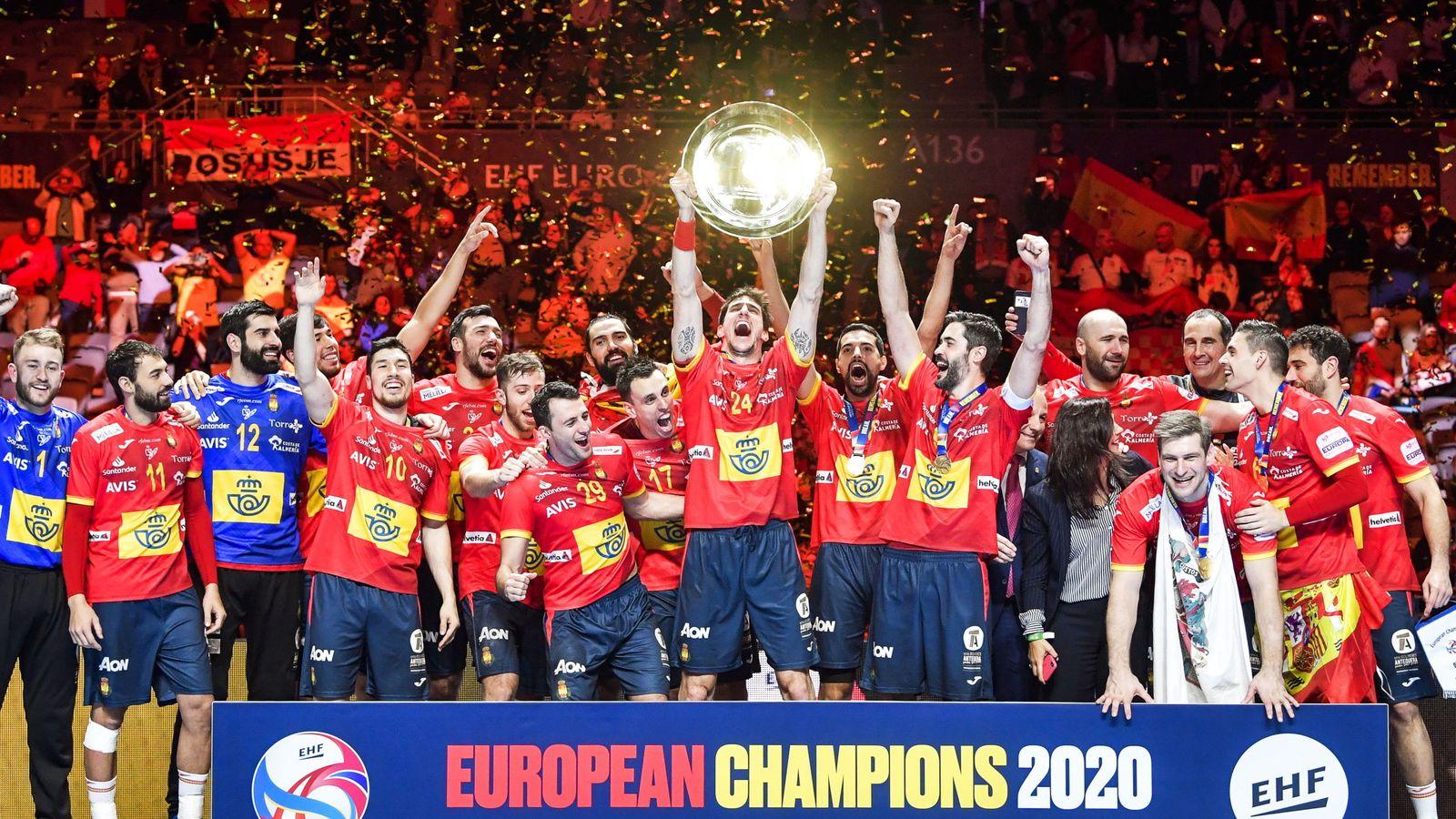 Selección española de balonmano: España vence a Croacia en un final de  infarto y revalida el título europeo de balonmano