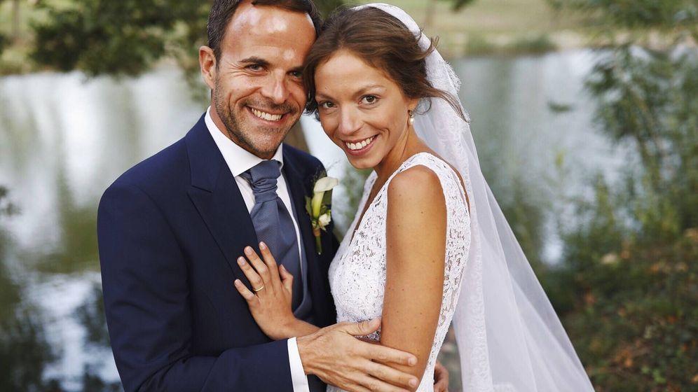 Foto: La hija de los condes de Hugues D'Annoux el día de su boda. (Vanitatis)