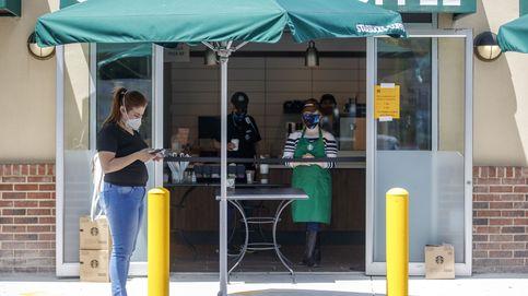 La cadena de cafeterías Starbucks reabrirá el 85% de sus locales en EEUU