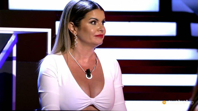 Yolanda, la madre de Marina, en 'La última tentación'. (Mediaset España)