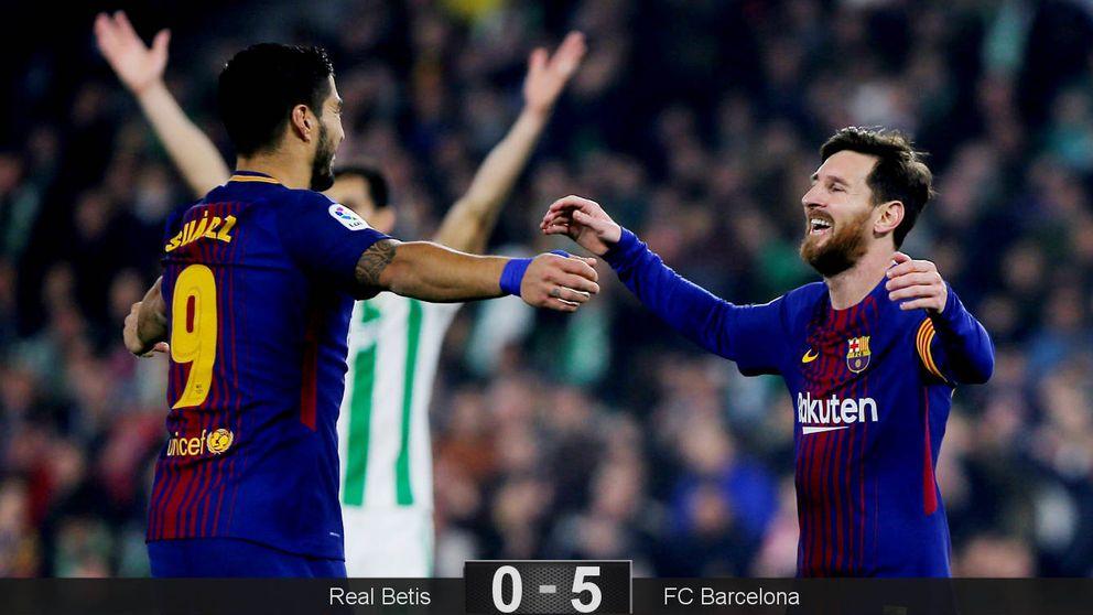A este Barcelona no hay quien le aguante y acabará haciendo aburrida la Liga