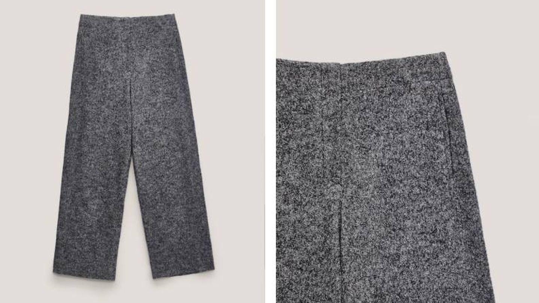 Olvídate del frío con este pantalón de lana de Massimo Dutti. (Cortesía)