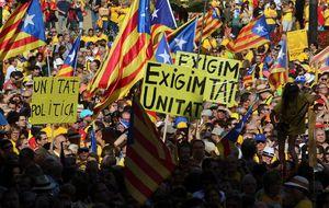 Resacón en Barcelona tras la macrofiesta del 9-25N