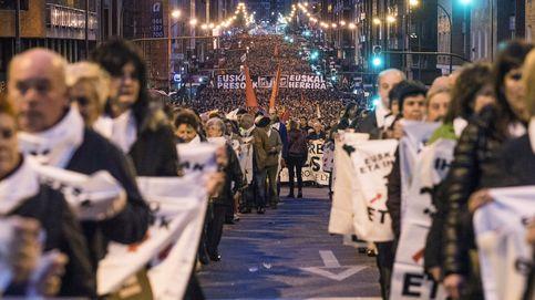 Bildu presiona en la calle por los presos  de ETA tras exhibir fuerza en el Congreso