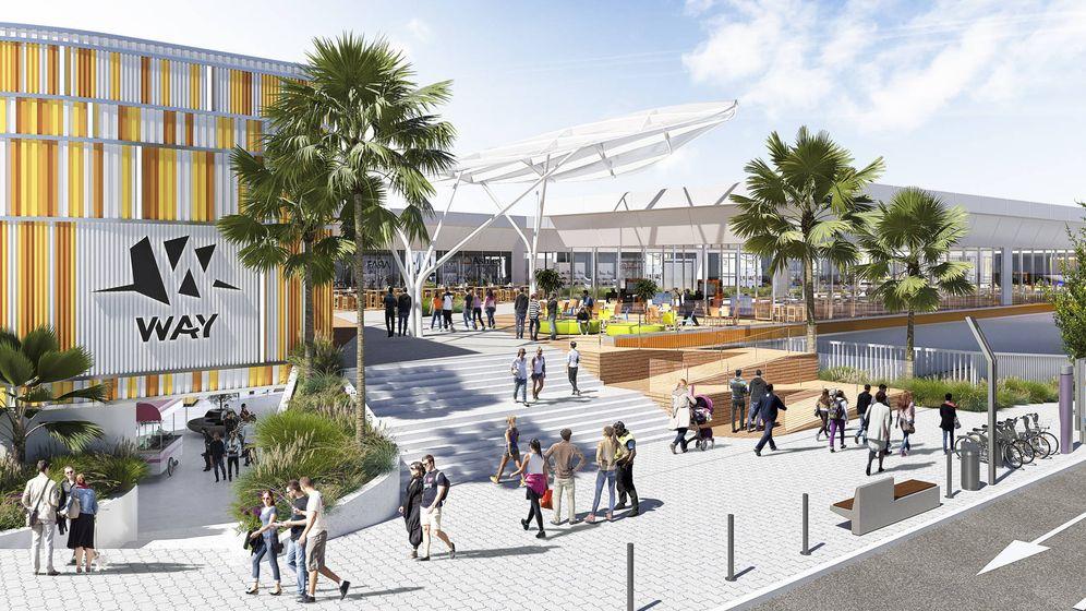 Foto: Futuro centro comercial en Dos Hermanas de Kronos.