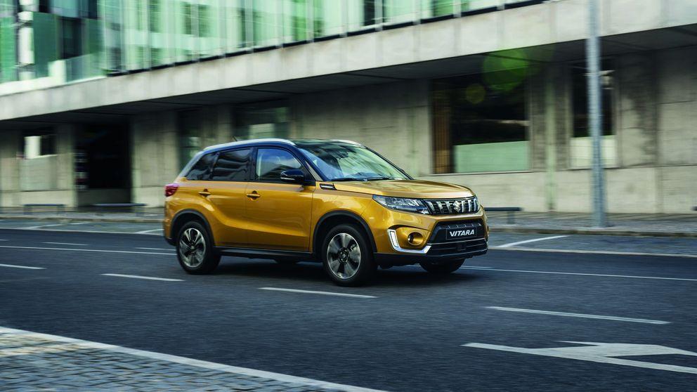 El bajo consumo -y etiqueta Eco- del renovado Suzuki Vitara