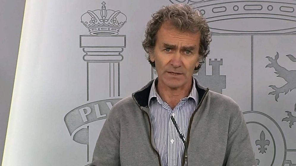 Foto: Fernando Simón, en una imagen de archivo. (TVE)