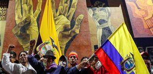 Post de El presidente de Ecuador se niega a dimitir y declara el toque de queda por las protestas