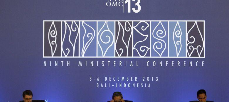 Foto: Reunión en Bali de la OMC (EFE)