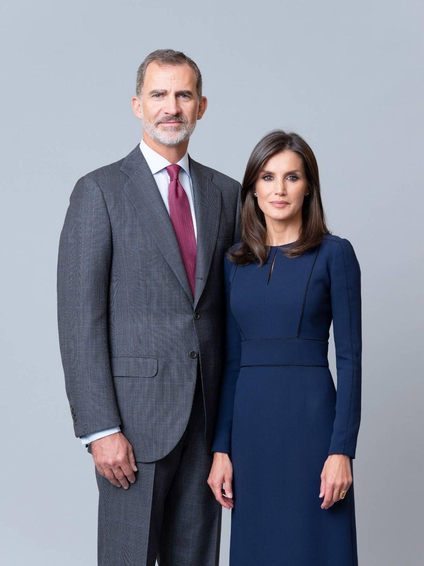 Los reyes Felipe y Letizia. (Estela de Castro / Casa Real)