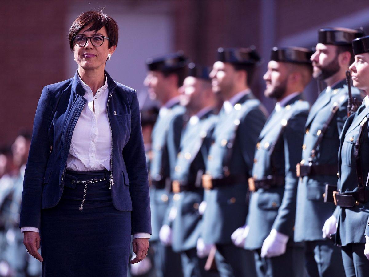 Foto: María Gámez, directora de la Guardia Civil. (EFE)