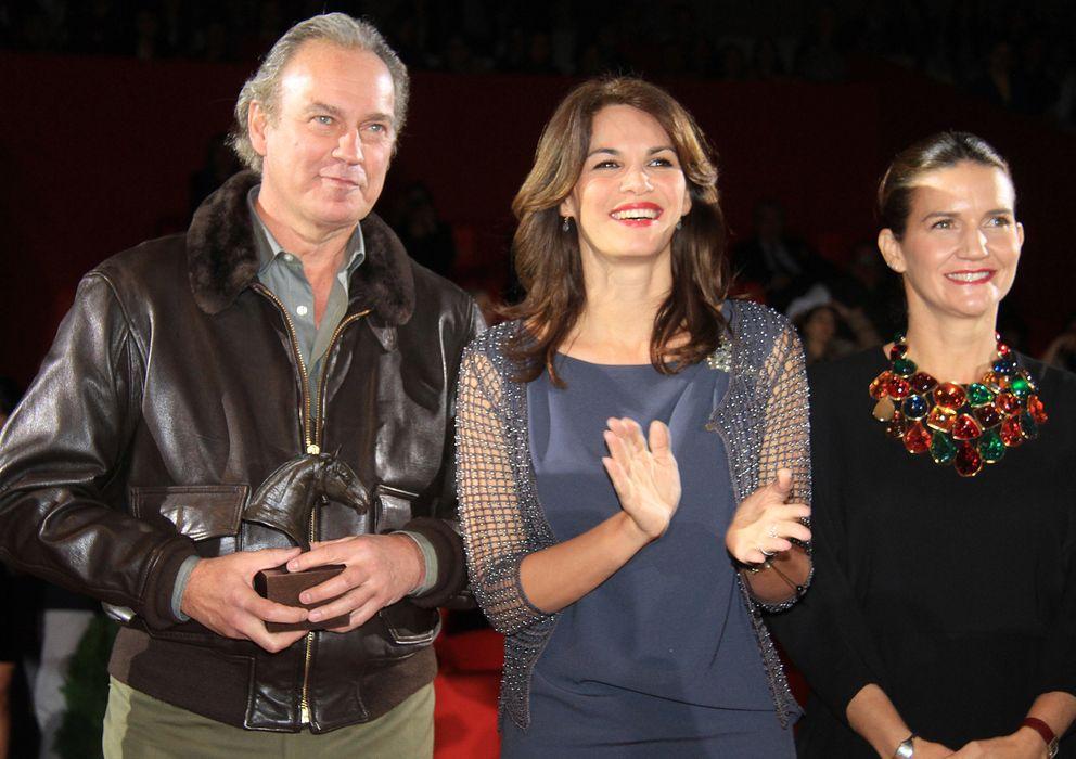 Foto: Bertín Osborne y Fabiola Martínez en el pasado Sicab (Gtres)