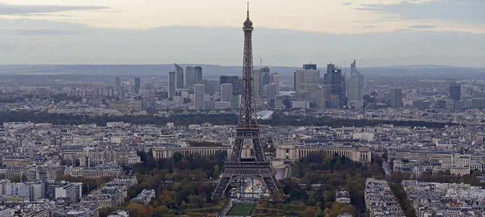 Foto: Vista general de la ciudad de París (Reuters)
