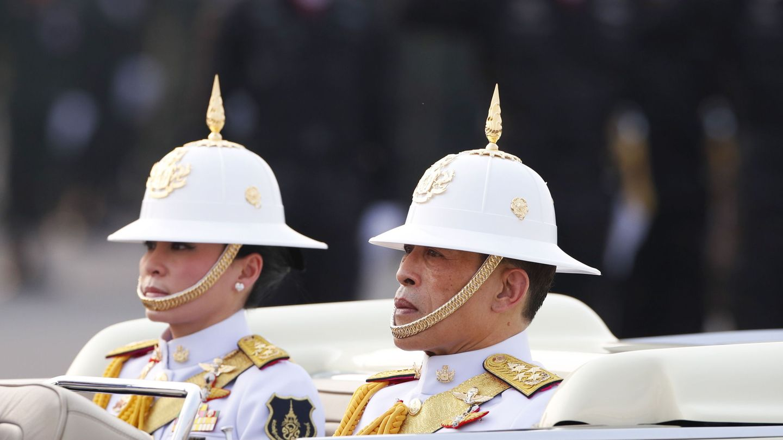 El rey y la reina de Tailandia, en una imagen de archivo. (Reuters)