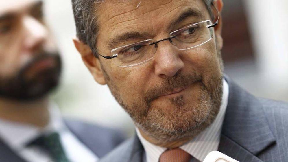Foto: Rafael Catalá, ministro de Justicia.