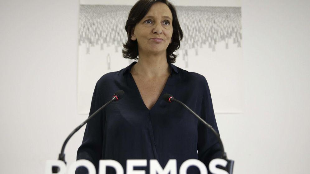 Foto: Carolina Bescansa, responsable de Programa de Podemos y secretaria de Análisis Político y Social. (EFE)
