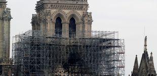 Post de La policía encontró colillas en los andamios donde surgió el fuego de Notre Dame