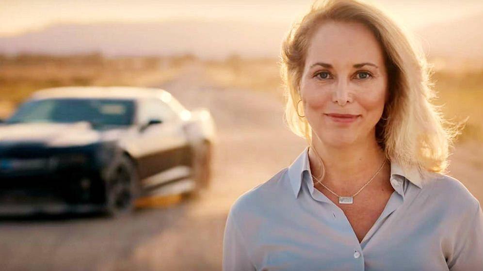 Foto: Valerie Plame, en su anuncio de campaña.