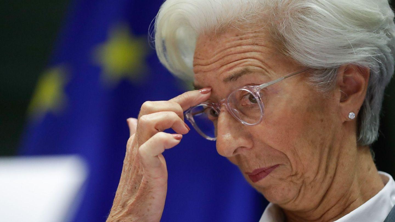 Christine Lagarde, presidenta del BCE. (Reuters)